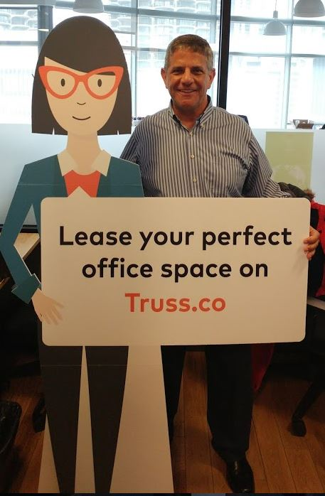 Ken and Vera At Truss's Brokerage Office Team Coworking Space