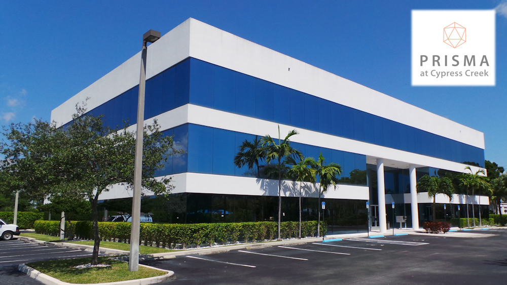 Prisma - Office Space for Lease in Fort Lauderdale's Uptown Market.